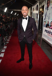 Terrence Jenkins at the California premiere of