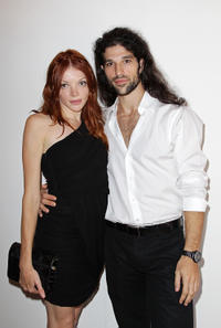 Nicole LaLiberte and Demian Gabriel at the photocall of