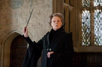 Maggie Smith as Professor Minerva Mcgonagall in