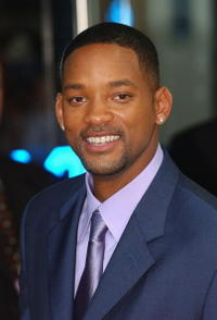 """Will Smith at the premiere of """"I, Robot"""" in London."""