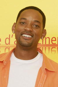"""Will Smith at the """"Shark Tale"""" photocall in Venice, Italy."""