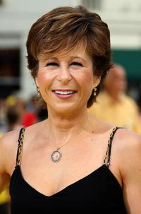 Yeardley Smith (voice of Bart) at the L.A. premiere of