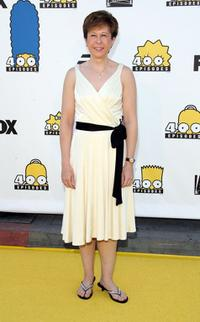 Yeardley Smith at The Simpsons 400th Episode Block Party.