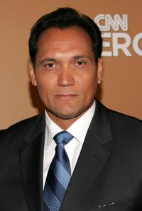 Jimmy Smits at the backstage during