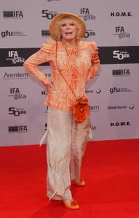 Elke Sommer at the IFA Opening Ceremony.
