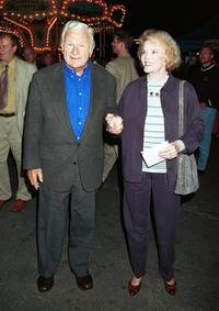 Eddie Albert and Nanette Fabray at the Santa Monica Pier.