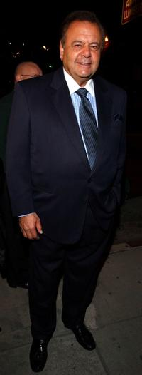 Paul Sorvino at the opening of the Heidi Khorsand Gallery introducing Sorvinos sculpture.