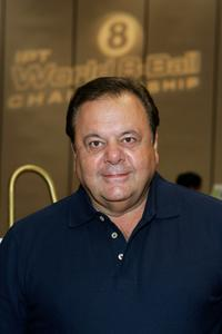 Paul Sorvino at the International Pool Tour World 8-Ball Championship.