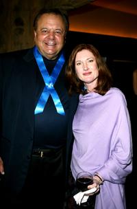Paul Sorvino and Anette O'Toole at the Global Vision for Peace launch of Artists for the United Nations.