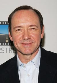 Kevin Spacey at the re-launch of Triggerstreet.com.
