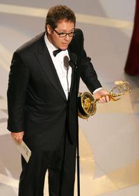 James Spader at the 59th Annual Primetime Emmy Awards at the Shrine Auditorium.