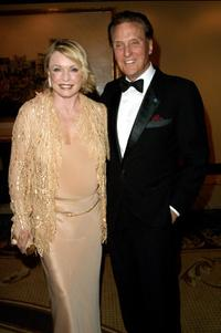 Robert Stack and his wife Rosemarie at the 46th Annual Thalians Ball.
