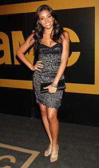 Meagan Tandy at the AMC after party of the 62nd Annual EMMY Awards in California.