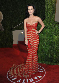 Katy Perry at the 2010 Vanity Fair Oscar party.
