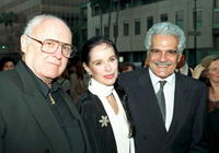 Rod Steiger, Geraldine Chaplin and Omar Sharif at the 30th anniversary of the movie
