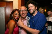 Stella Stolper, Ben Stein and Jamie Kennedy at the VH1 Back to School Party.