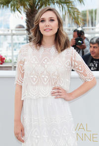 Elizabeth Olsen at the photocall of