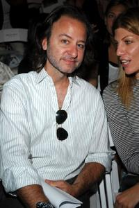 Fisher Stevens at the Carlos Miele Spring 2008 Fashion Show.