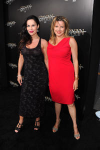 Simona Williams and Guest at the California premiere of