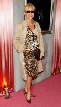 Sharon Stone at the Diamond Information Center and InStyle Diamond Fashion Show.