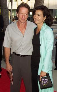 Peter Strauss and Rachel Tichotin at the premiere screening of