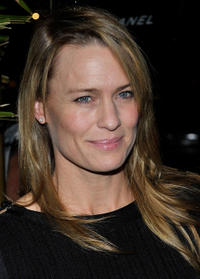 Robin Wright at the Chanel and Charles Finch Host A Pre-Oscar Dinner in California.