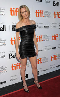 Robin Wright at the premiere of