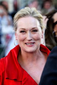 Meryl Streep at the world premiere of