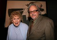 Gloria Stuart and Robert Rosen at the kick-off reception for Women In Film Foundation's