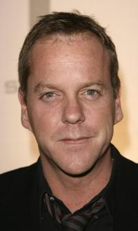 Kiefer Sutherland at the Season Five DVD Collection Launch party for