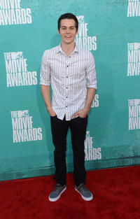 Dylan O'Brien at the 2012 MTV Movie Awards in California.
