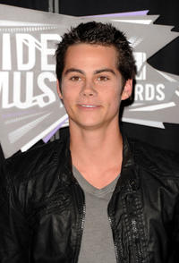 Dylan O'Brien at the 2011 MTV Video Music Awards in California.
