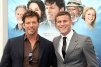 Harry Connick Jr. and Austin Stowell at the California premiere of