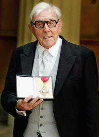 Eric Sykes at the Queen Awards Honours.