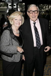 Eric Sykes and Guest at the South Bank Show Awards.