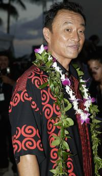 Cary-Hiroyuki Tagawa at the world premier of NBC's new police drama