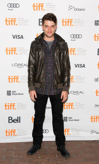 Chase Williamson at the premiere of