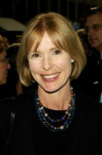 Victoria Tennant at the New York opening night of