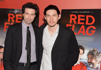 Director Alex Karpovsky and Adam Driver at the New York premiere of