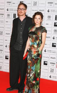 David Thewlis and Anna Friel at the British Independent Film Awards 2008.