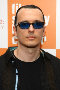 Damien Echols at the premiere of