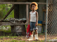 Quvenzhane Wallis as Hushpuppy in