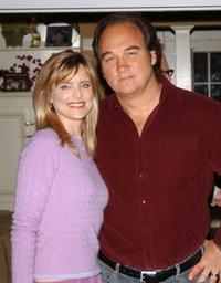 Courtney Thorne-Smith and Jim Belushi at the