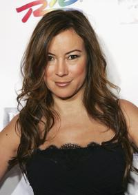 Jennifer Tilly for a party at the first day of the World Series of Poker's no-limit Texas Hold'em main event.