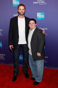 Garret Dillahunt and Isaac Leyva at the premiere of