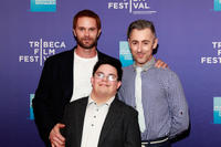 Garret Dillahunt, Isaac Leyva and Alan Cumming at the premiere of