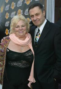 Joseph Bologna and his wife Renee Taylor at the 1st Annual Palms Casino Royale to benefit the Los Angeles Lakers Youth Foundation.