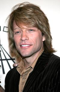 Jon Bon Jovi at the 20th Annual Rock And Roll Hall Of Fame induction ceremony.