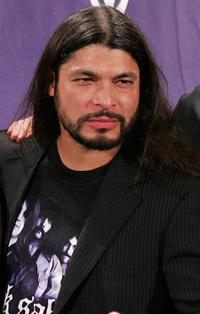 Robert Trujillo at the 21st Annual Rock And Roll Hall Of Fame Induction Ceremony.