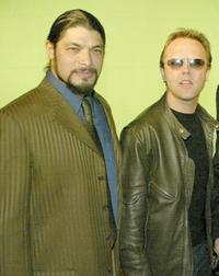 Robert Trujillo and Lars Ulrich at the 21st Annual ASCAP Pop Music Awards.